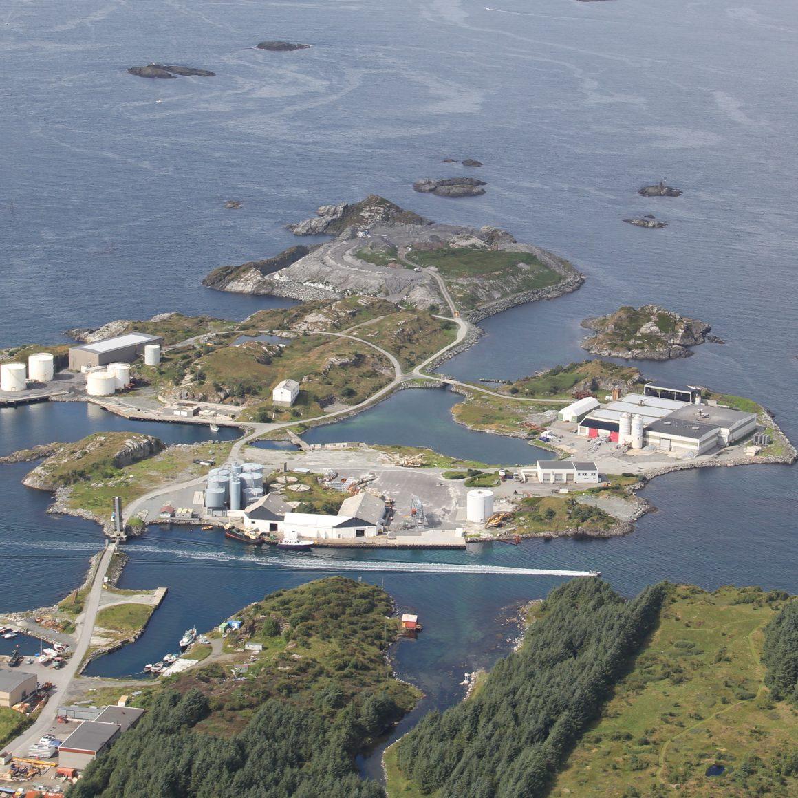 Dronebilde Storøy